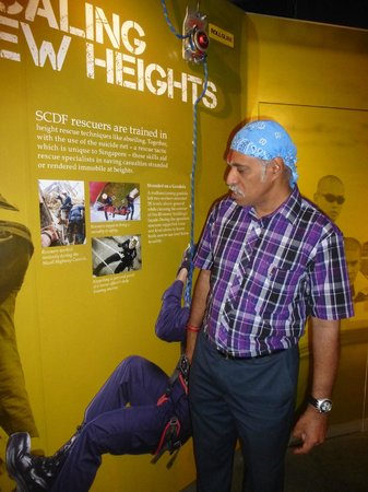 Civil Defence Heritage Gallery: Mr. Segar