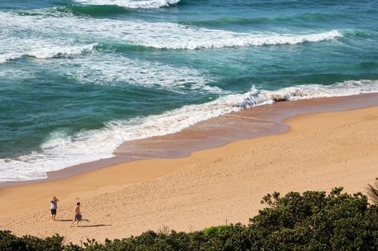 Zinkwazi Beach: View from the balcony