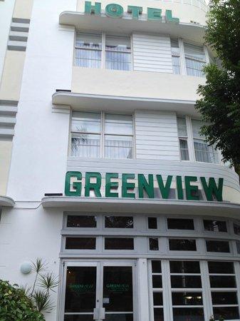Greenview Hotel : Вход в отель