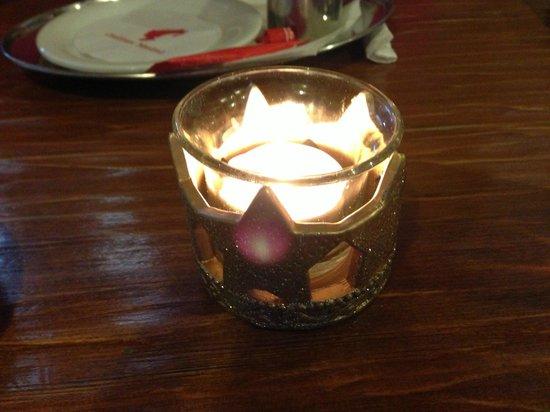 Restaurant Koliba Likava : Candle