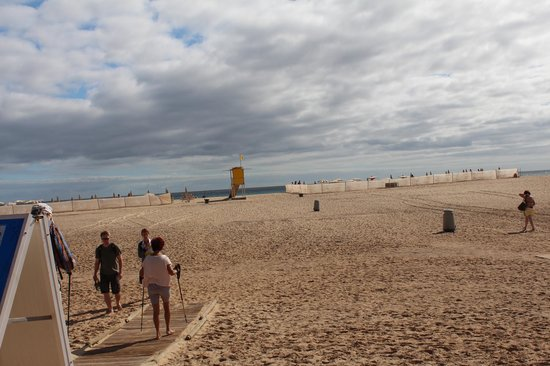 Faro de Morro Jable: Stranden ved Morro Jable