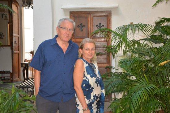 Gratitude, a Heritage Home: Rocio and me