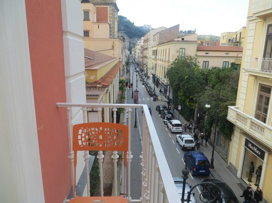 Palazzo Tasso: View from Balcony looking over the other side