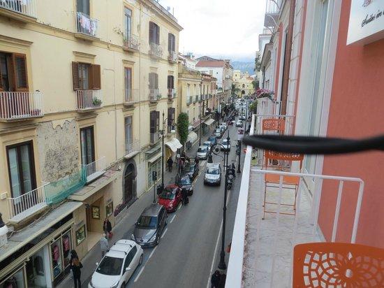 Palazzo Tasso: View from balcony