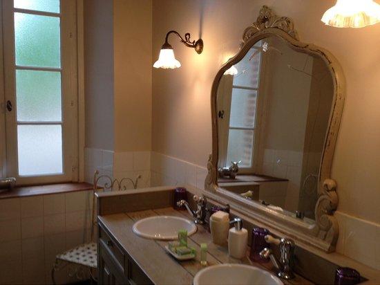 Chateau de Touny Les Roses : Ванная комната