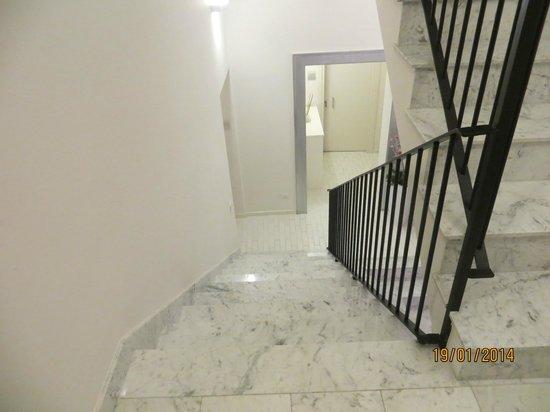 Palazzo Tasso: Stairs
