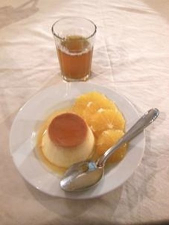 De Foucauld - crem caramel e tè