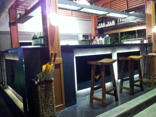 The Banyumas Villa: Bar at the poolside