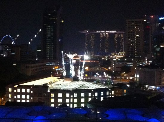 Novotel Singapore Clarke Quay: Night View