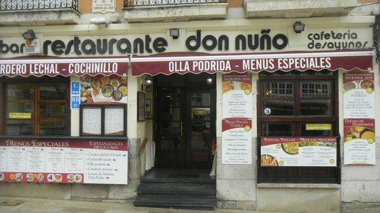 Restaurante Don Nuno: Вход
