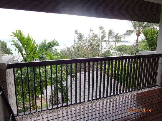 Sareeraya Villas & Suites : balcony view