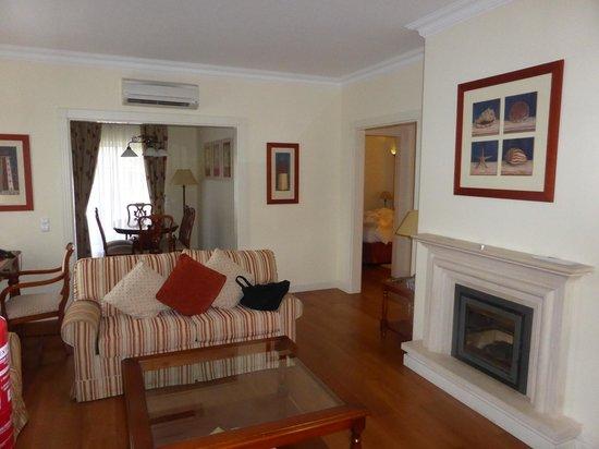 Suites Alba Resort & Spa : Vista Salón Suites