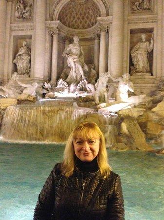 Trevi-Brunnen (Fontana di Trevi): Fontana di Trevi , Roma