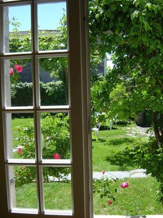 La Souleillane: le jardin