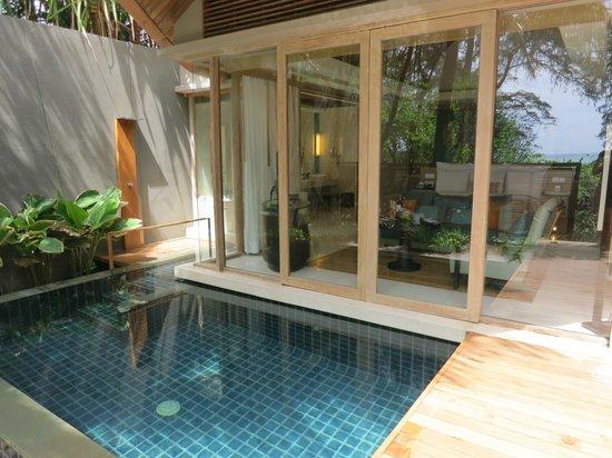Renaissance Phuket Resort & Spa: our own pool villa!