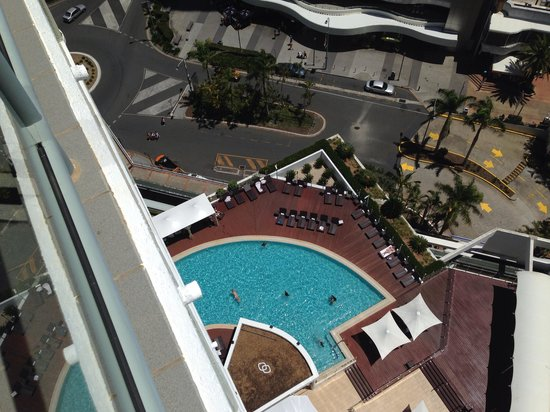Sofitel Gold Coast Broadbeach: View from balcony
