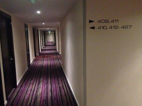 The Trafalgar Hotel: Hallway
