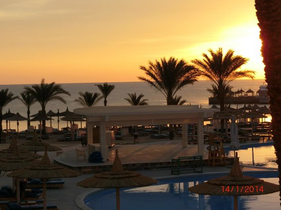 Beach Albatros Hotel: Unser Morgenblick