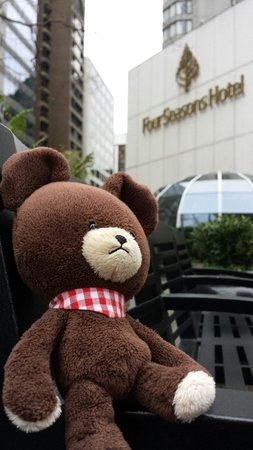 Four Seasons Hotel Vancouver: Dusty Bear loved his stay!