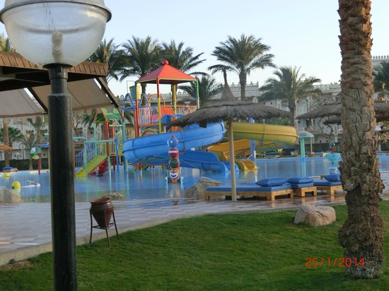 Beach Albatros Resort: wunderschöne Kinder Poolanlage