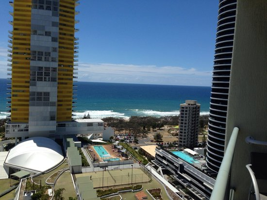 Sofitel Gold Coast Broadbeach: View from the 19th floor