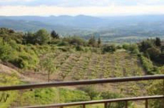 La Maison D'Edouard : Vue sur la vallée