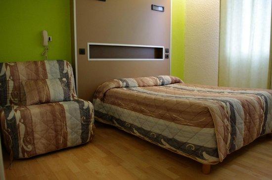 Belalp Hotel: triple lit fauteuil