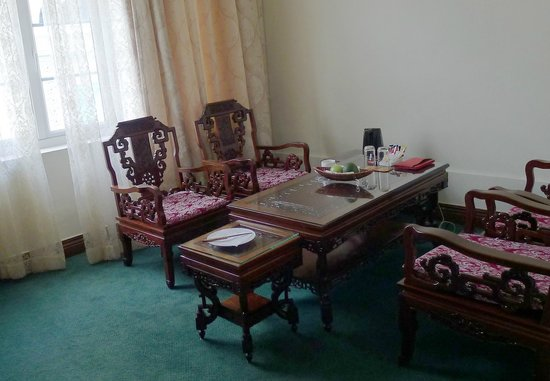 Hotel Continental Saigon: Sitting area