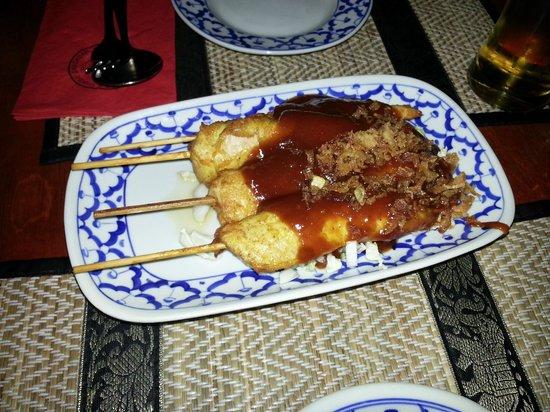 Bird Thai Restaurant: antipasto thaise kipsate €6.00