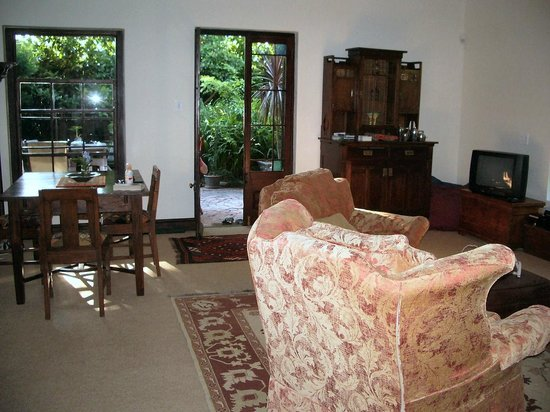 The Hout Bay Hideaway : Living Area