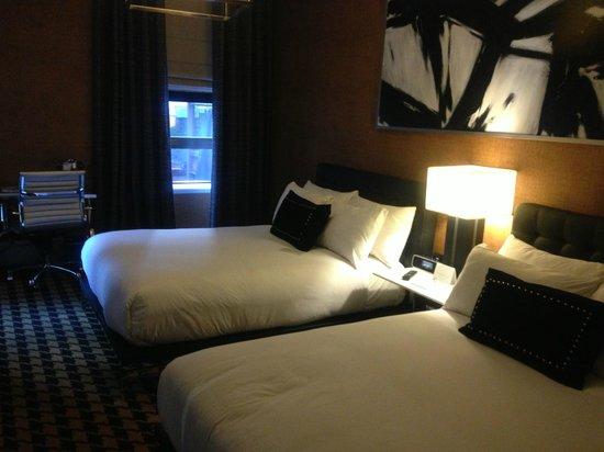Ameritania Hotel: Sköna sängar