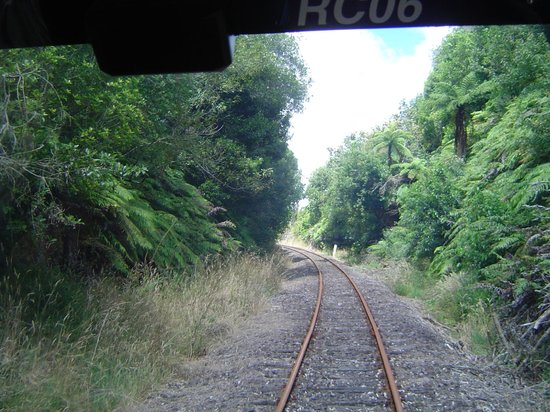 Railcruising: A section of the rail line
