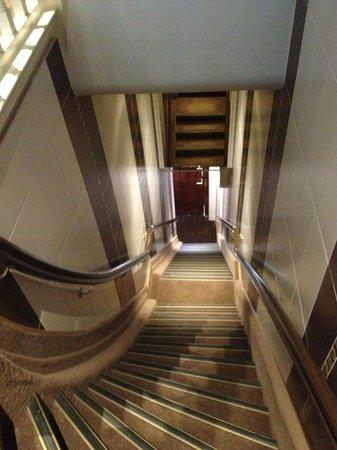 Clemens Hotel: Та самая лестница
