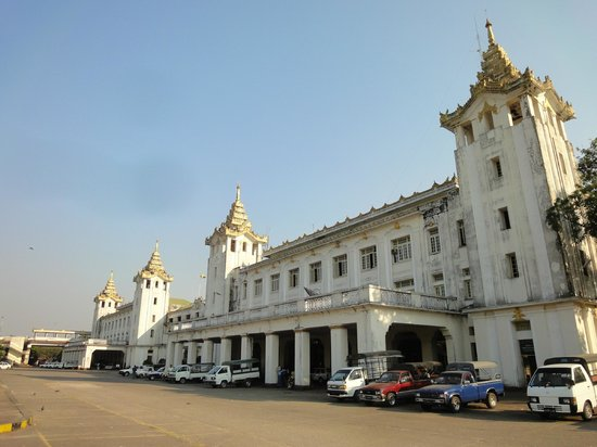 ‪Yangon Central Railway Station‬