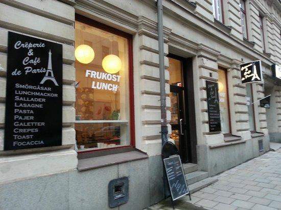 Creperie Cafe De Paris Stockholm