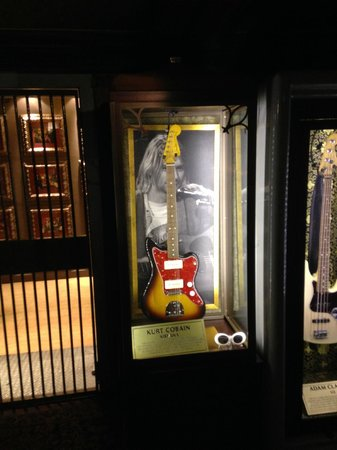Hard Rock Cafe London: Kurt Cobain