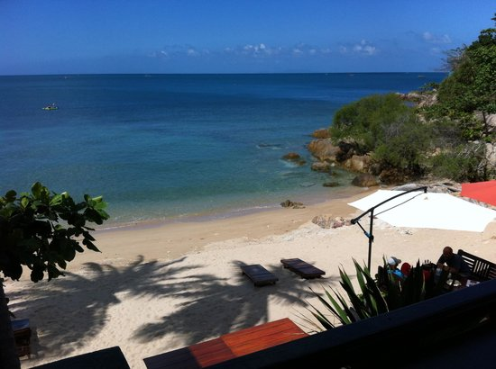 Haad Gruad Beach Resort & Spa: View from the bar & restaurant