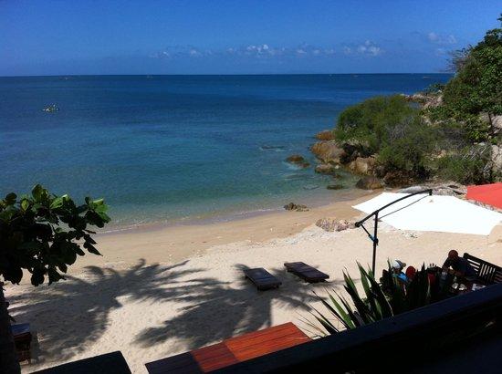 West Coast Beach Resort: View from the bar & restaurant