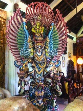 Ayung Resort Ubud : Lobby Art