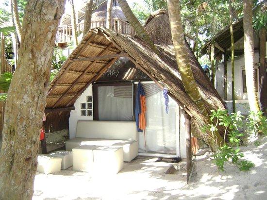 Playa Xcanan Cabanas Tulum: Stand alone cabana....