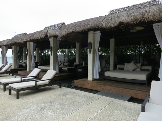 Abaca Boutique Resort: cabanas