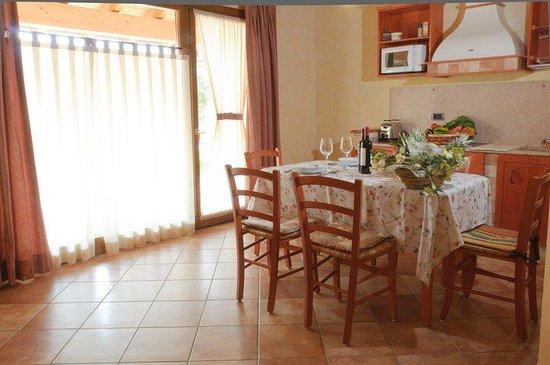 Residence Capa Lion del Cacciatore: cucina