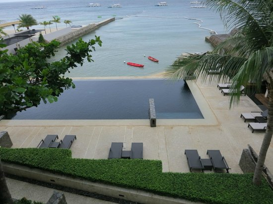 Abaca Boutique Resort : view from our balcony