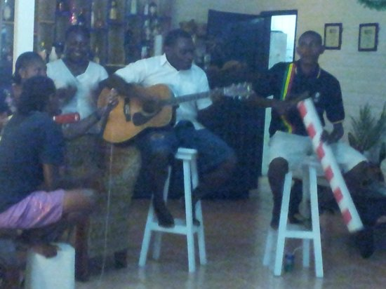Turtle Bay Lodge : Staff performing at New Years Eve Celebration