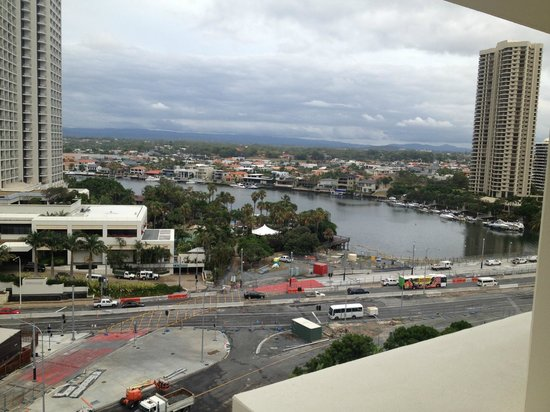 Seacrest Apartments: viw #2 Nerang river from loungeroom :unit12D