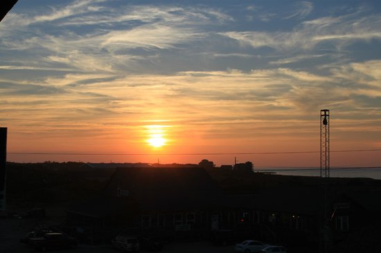 Outer Banks Motel : Sunset Pamilco Sound