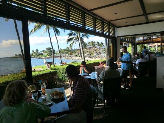 Beach House Restaurant: view from restaurant