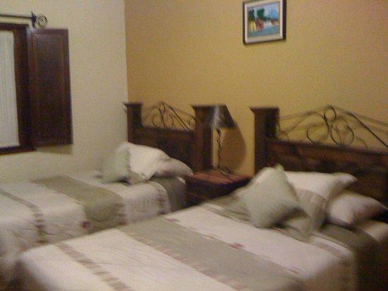 Hotel Palacio Chico 1940 : room 5 (shutters in the window so it is dark when you sleep!)