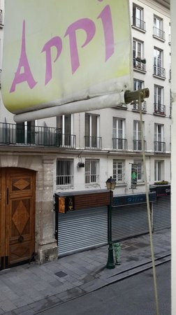 Appi Hotel : Вид из окна