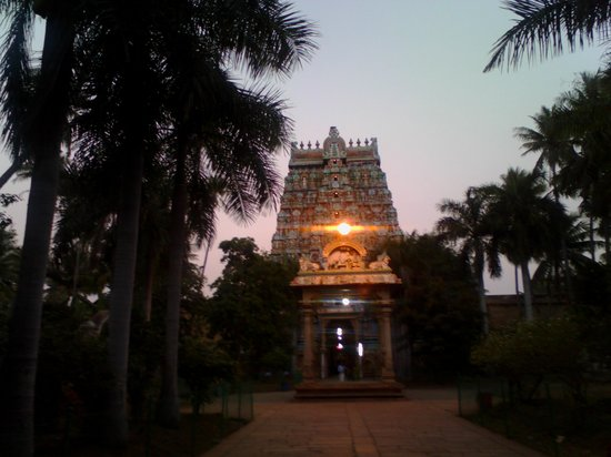 Tiruchirappalli, India: Tiruvanaika-Muralitharan photo